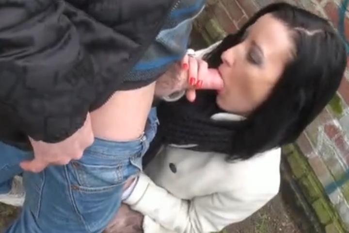 geile buiten sex milf anaal geneukt