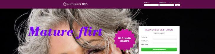 Mature Flirt, flirten met oudere vrouwen